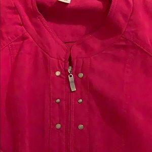 Long Sleeve Zip up top